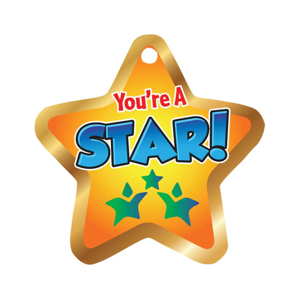 You're A Star! Tags With 4