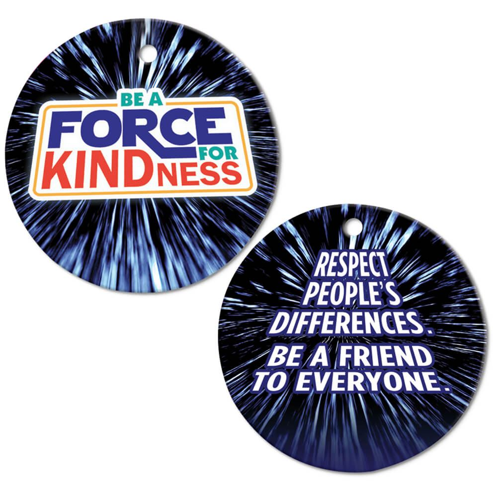Be A Force For Kindness Award Tags With 4