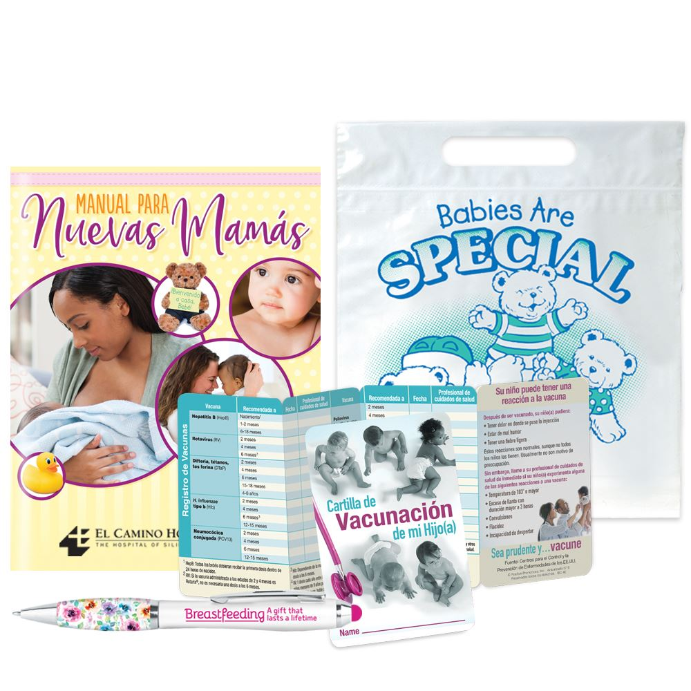 New Mom And Baby Value Pack (Spanish) - Personalization Available