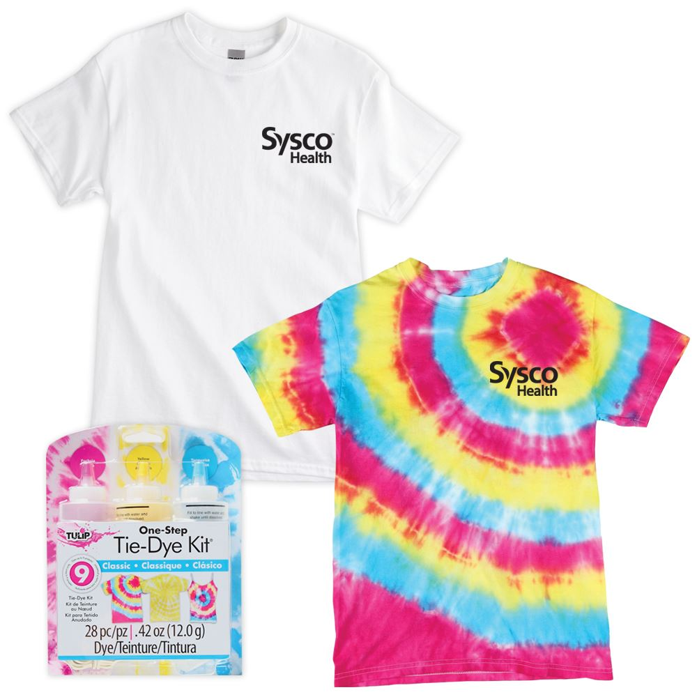 All-In-One Youth Tie-Dye Fun Kit- Silkscreen Personalization Available