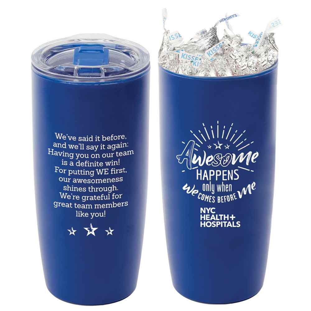 Sierra Insulated Acrylic Tumbler 19-Oz. with Hershey's® Kisses® - Personalized