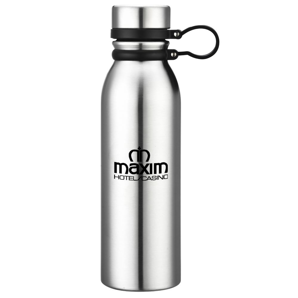 Double Wall Stainless Steel Vacuum Bottle 20-Oz. - Personalization Available