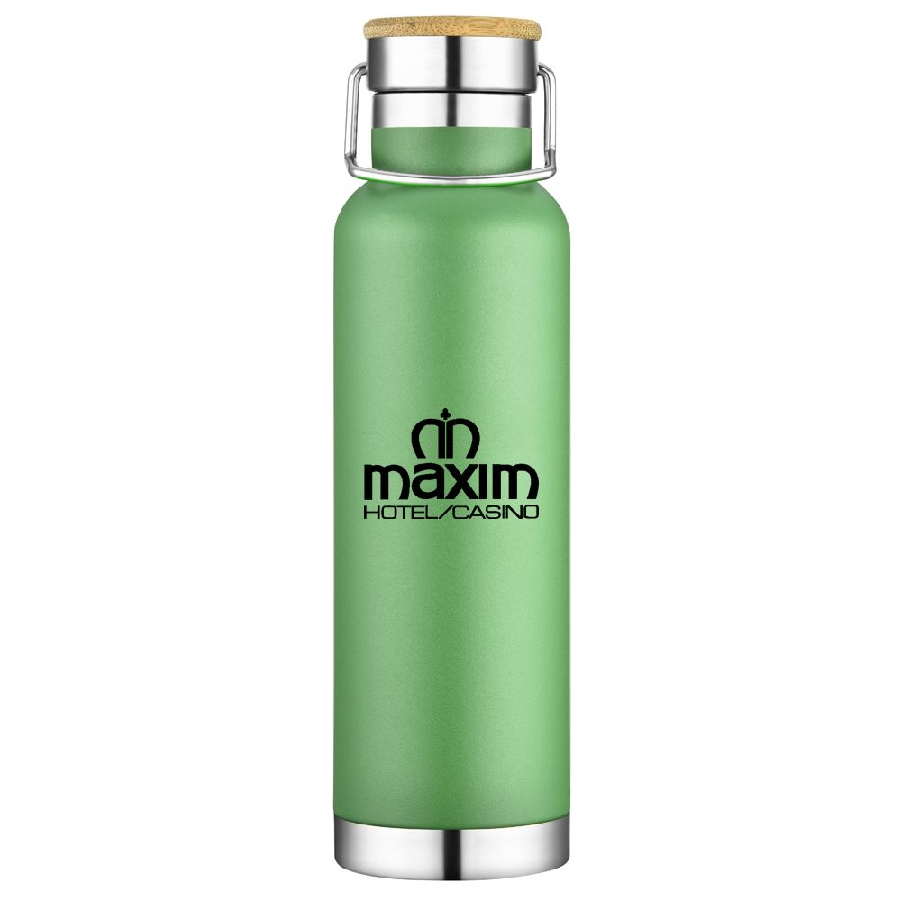 Double Wall Stainless Steel Vacuum Bottle 22-Oz. - Personalization Available