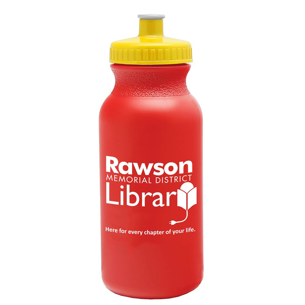 Sporty Water Bottle 20-Oz. - Personalization Available