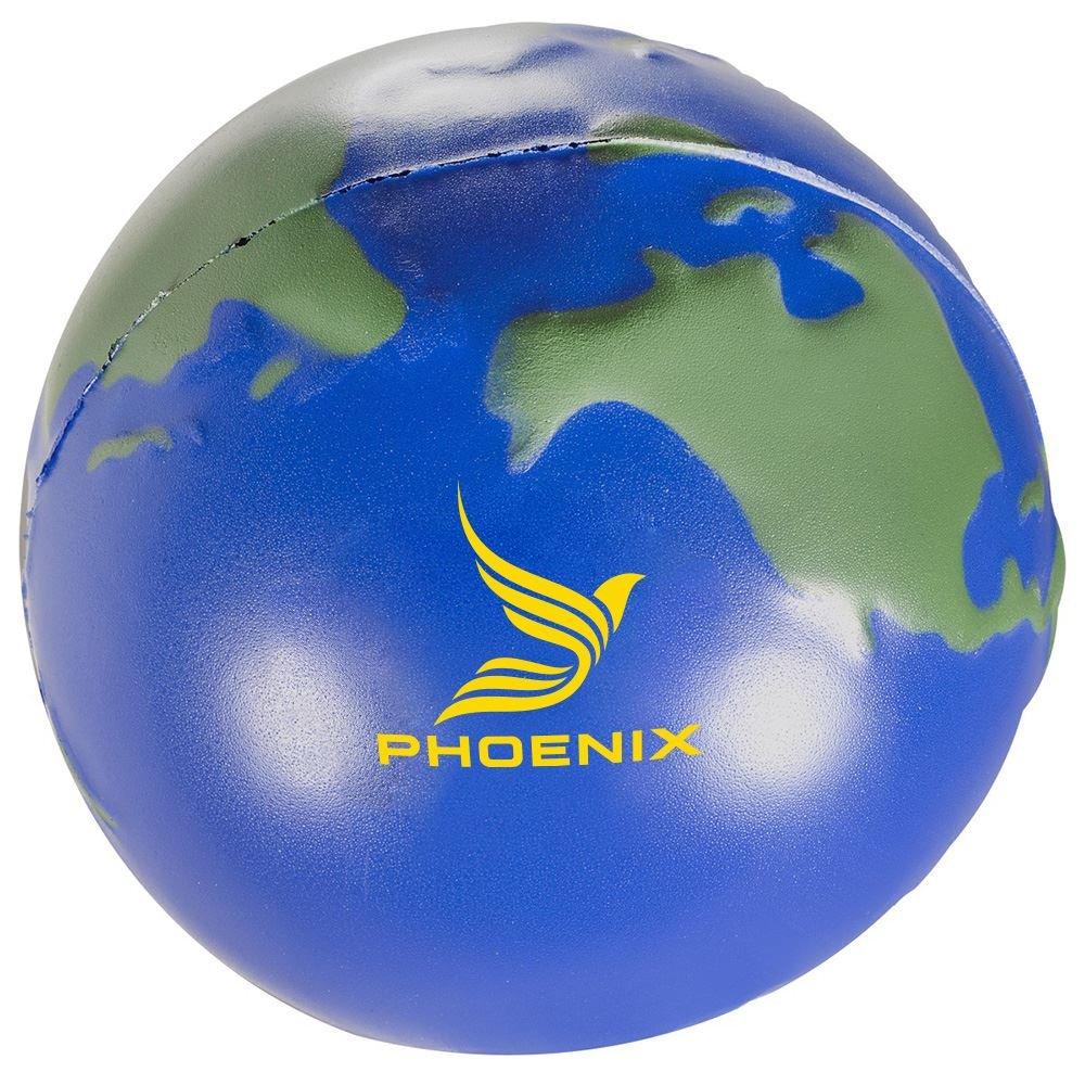 World Polyfoam Stress Ball - Personalization Available