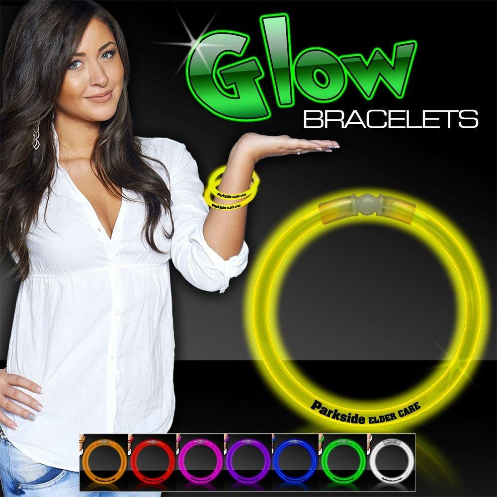 Safety Glow Bracelet - Personalization Available
