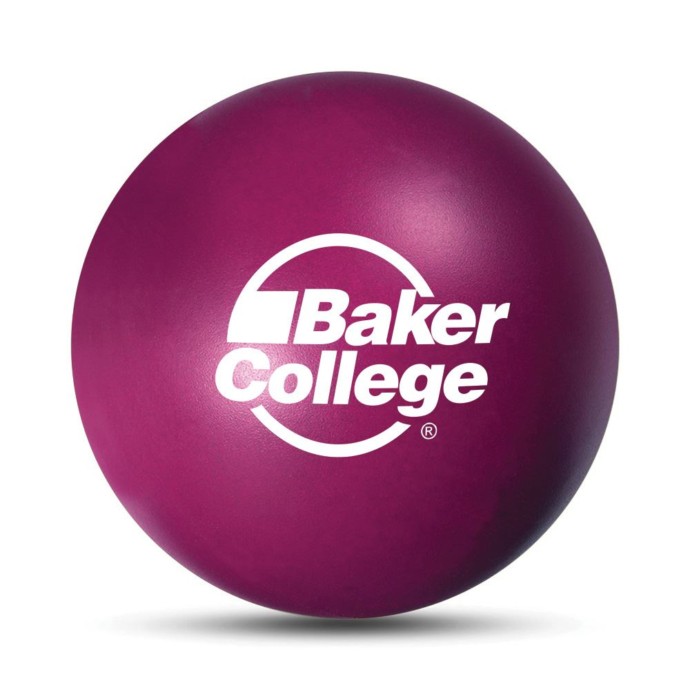 Round Polyfoam Stress Reliever Ball - Personalization Available