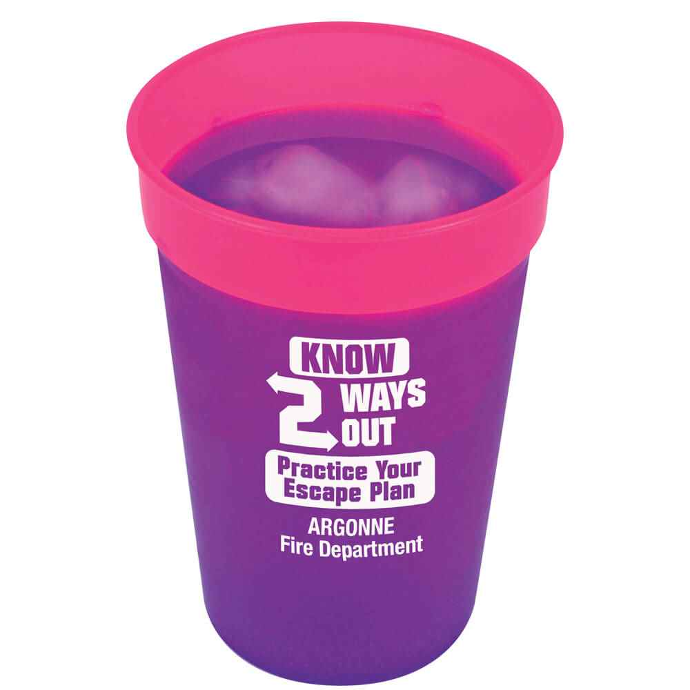 Color-Changing Stadium Cup 17-Oz. - Personalization Available