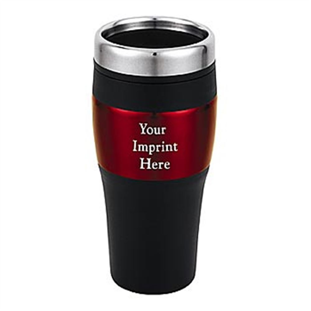 Stainless Steel Travel Tumbler 16-oz. - Personalization Available
