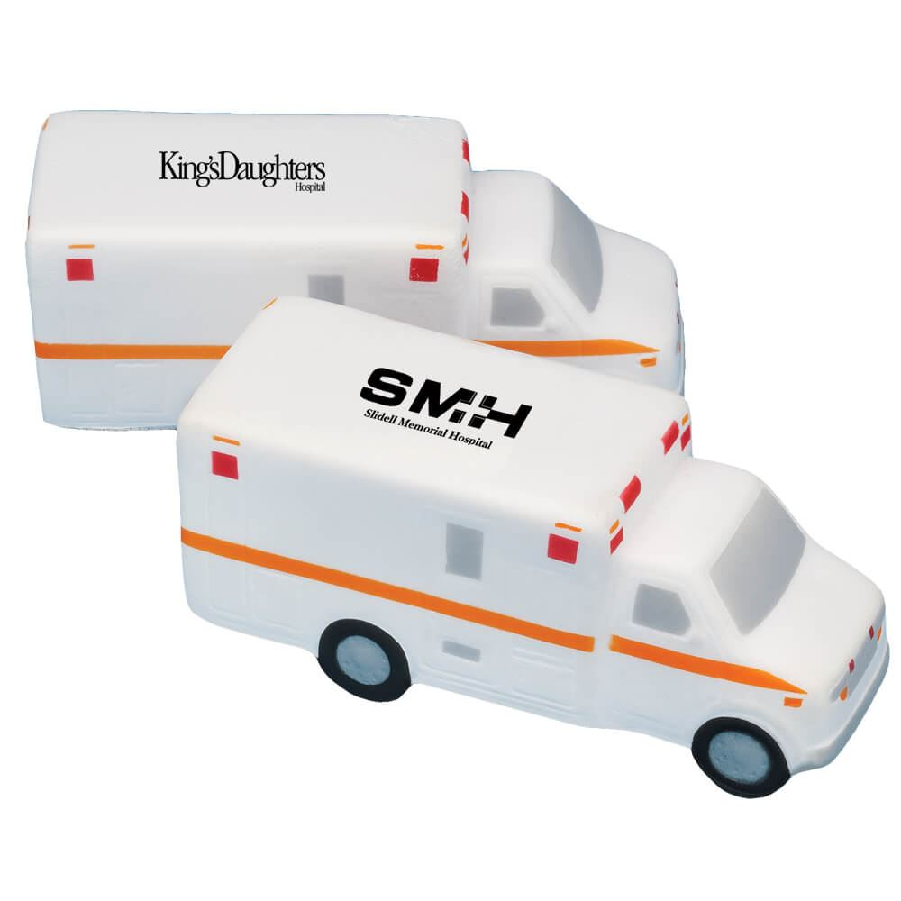 Ambulance Stress Reliever - Personalization Available