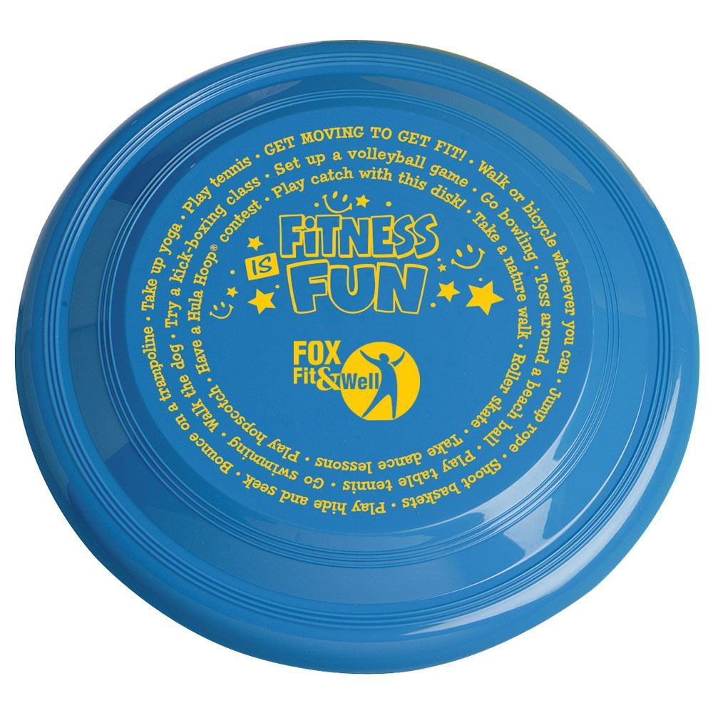 """Fitness Is Fun 9"""" High Flyer Discs - Personalization Available"""
