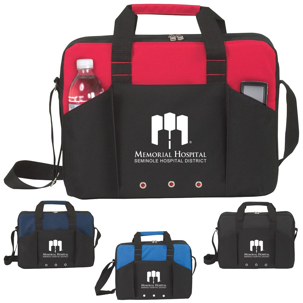 Economic Briefcase Tote - Personalization Available