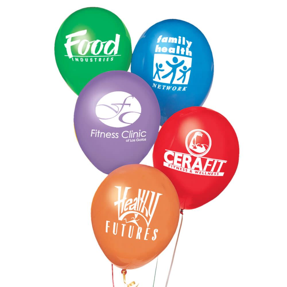 """11"""" Biodegradable Latex Balloons - Personalization Available"""