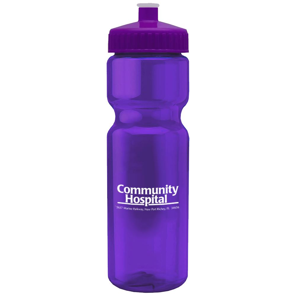 Translucent Water Bottle 28-Oz. - Personalization Available