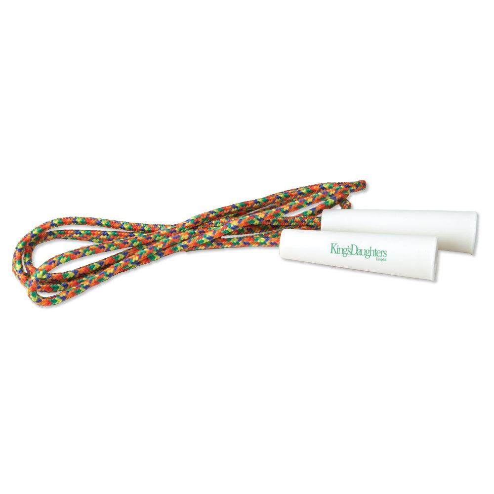 Rainbow Plaid Jump Rope - Personalization Available