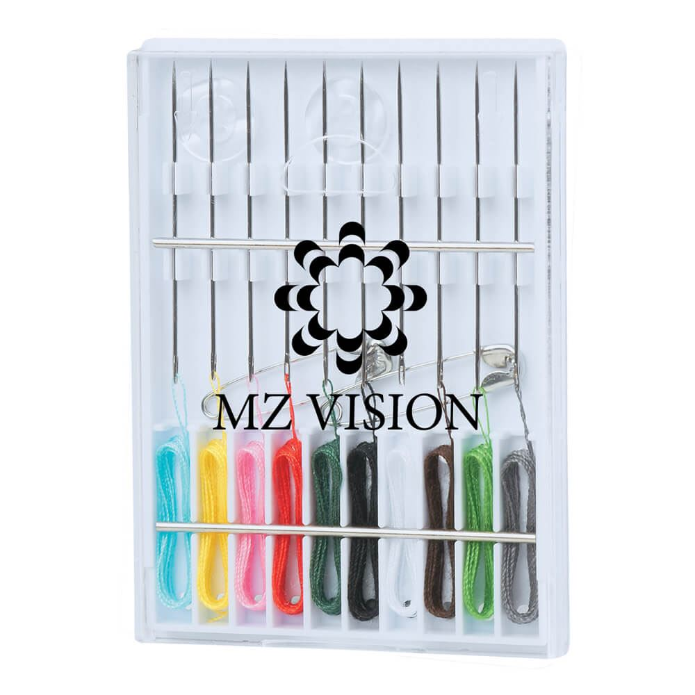 Pocket Pre-Threaded Sewing Kit - Personalization Available