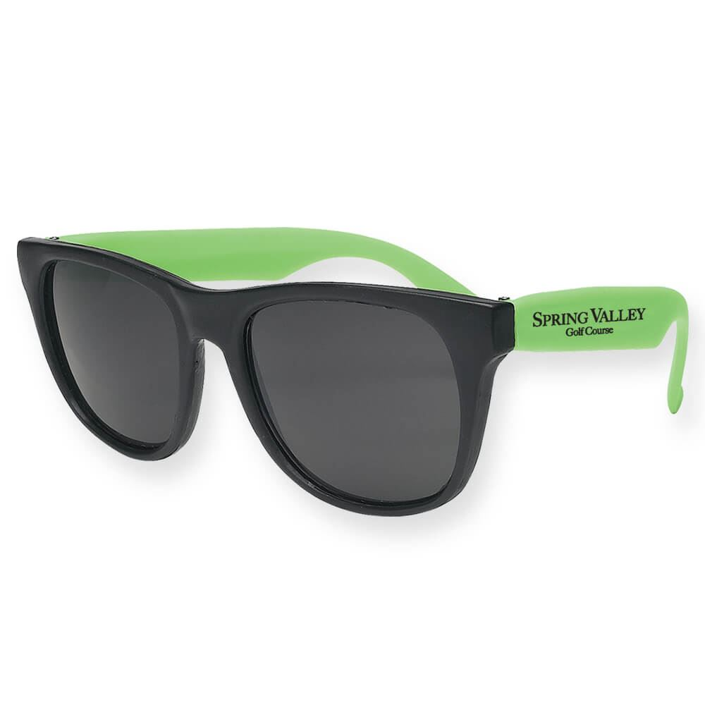 Lightweight Rubberized Sunglasses - Personalization Available