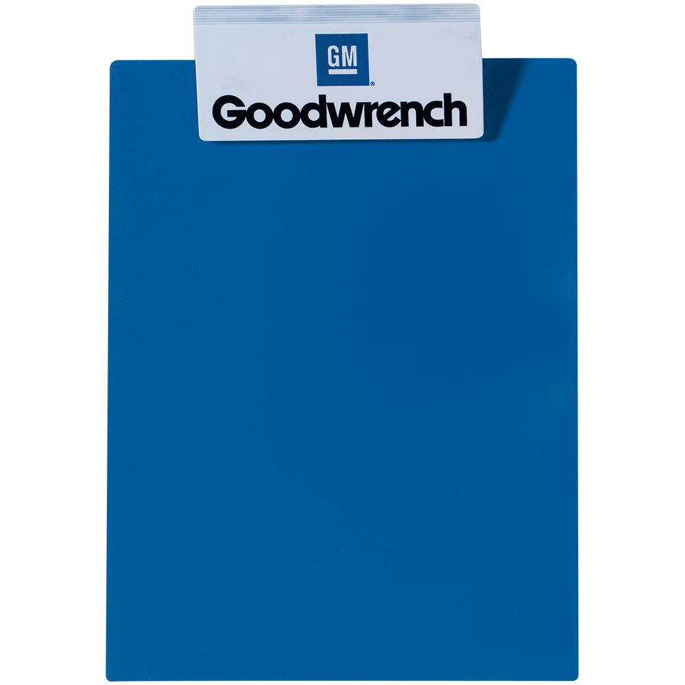 Letter-Sized Clipboard With Jumbo Clip - Personalization Available