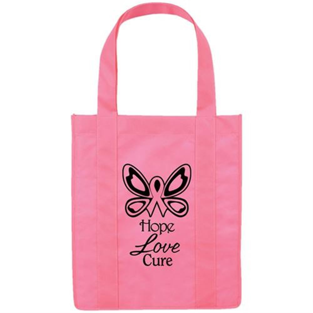 Non-Woven Eco-Shopper Tote - Personalization Available