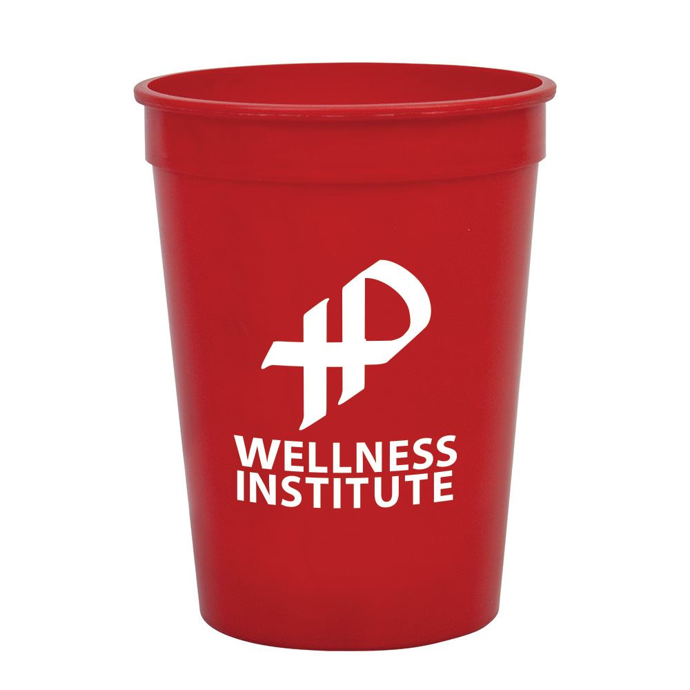 Durable Recyclable Stadium Cup 12-oz.  - Personalization Available