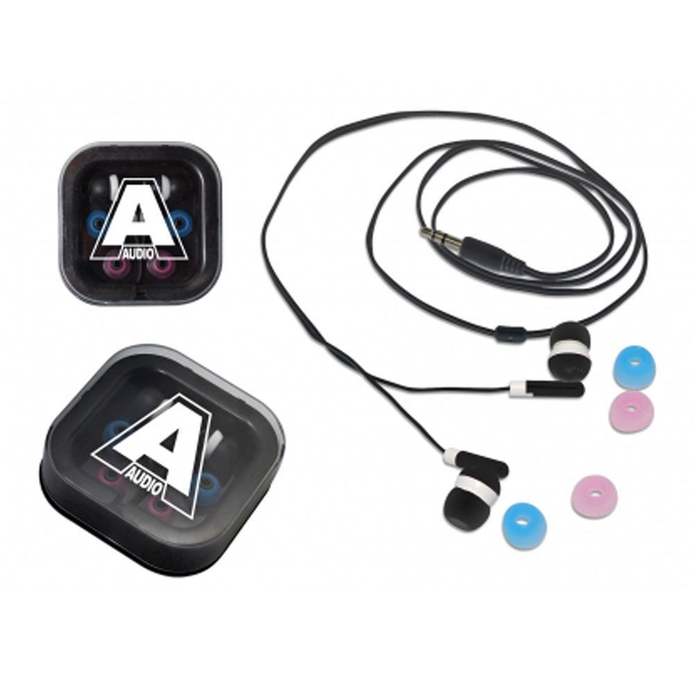 Ear Buds With Travel Box - Personalization Available