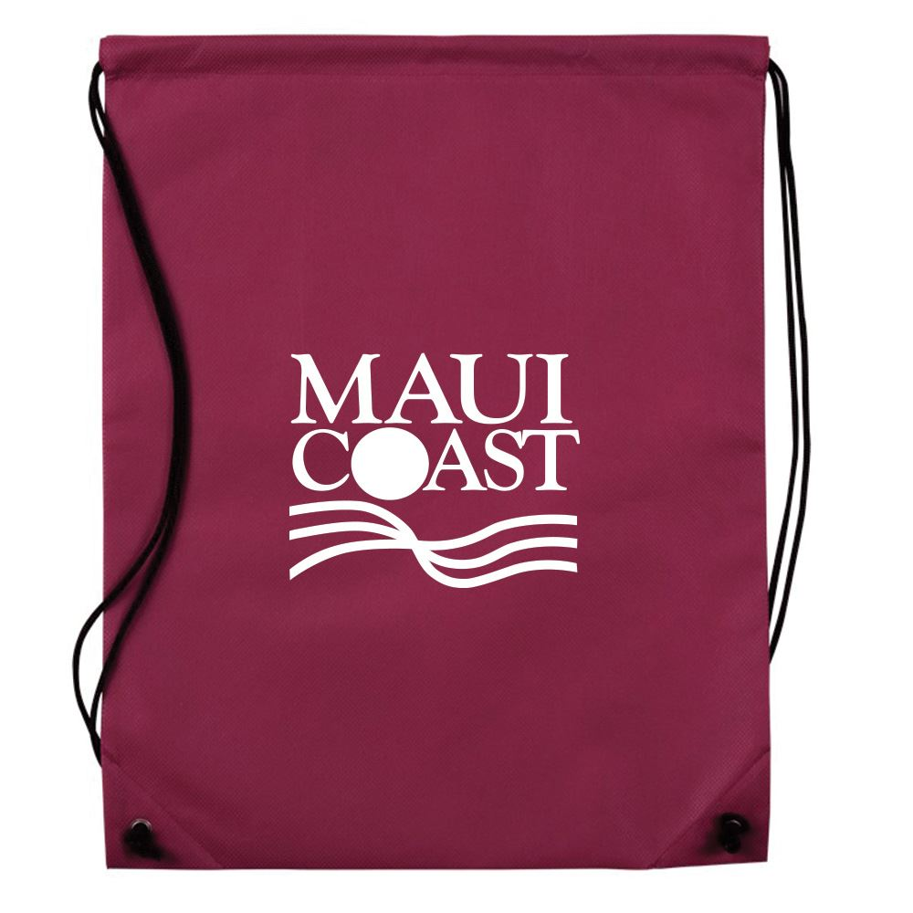 Eco Friendly Non-Woven Cinch Up Backpack - Personalization Available
