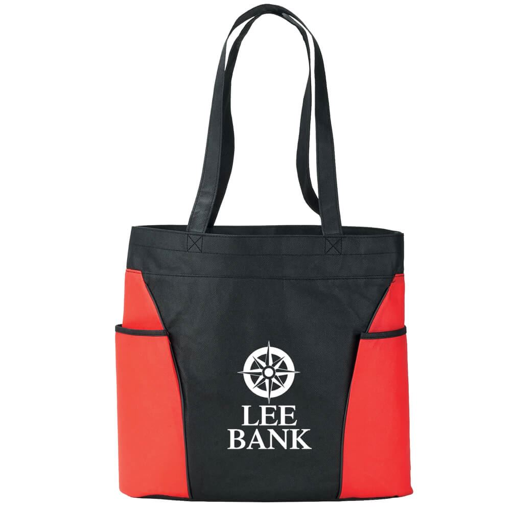 Double Pocket Non-Woven Tote - Personalization Available