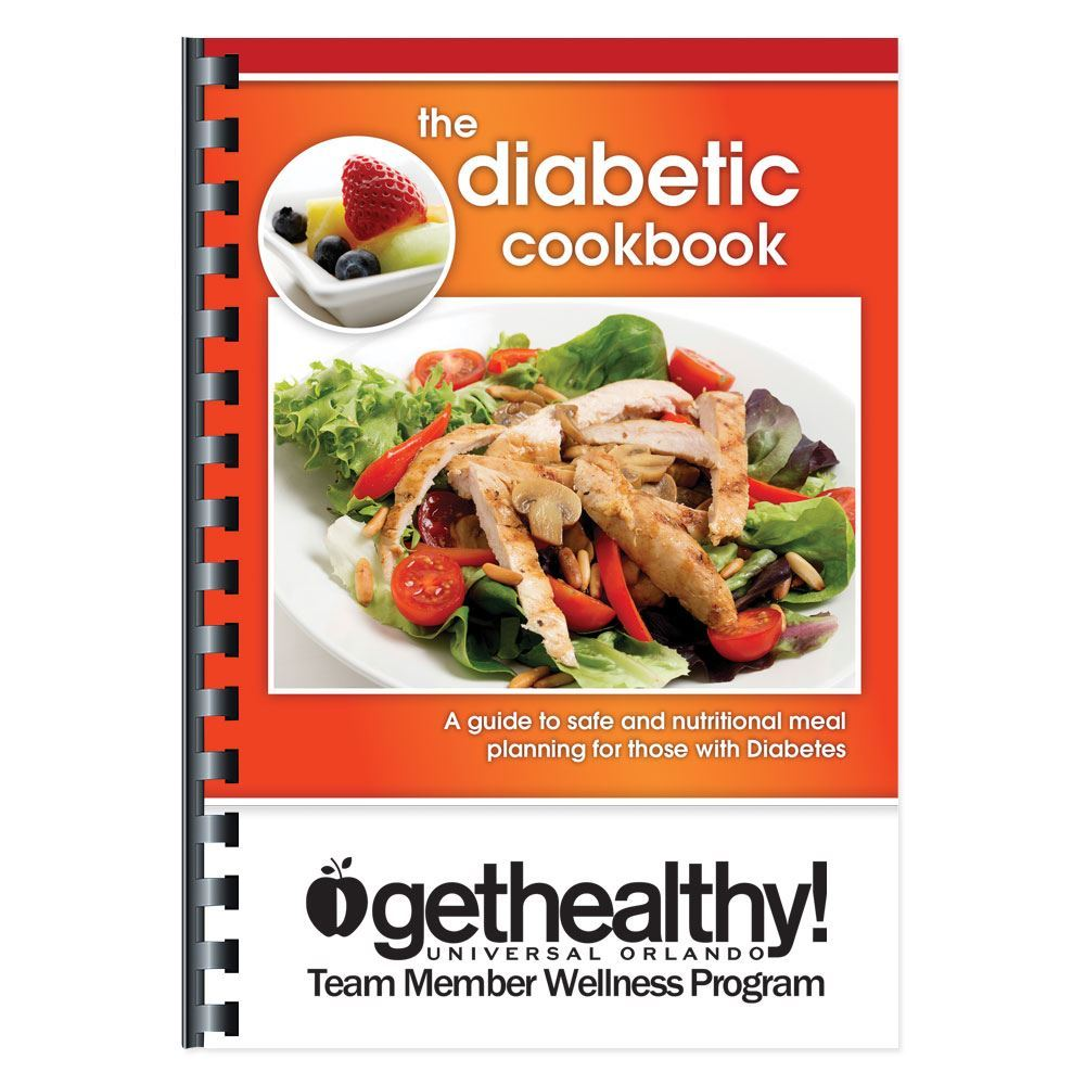 The Diabetic Cookbook - Personalization Available