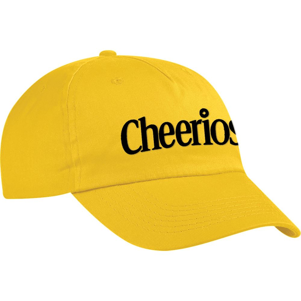Silk Screened Cotton Twill Baseball Cap - Personalization Available