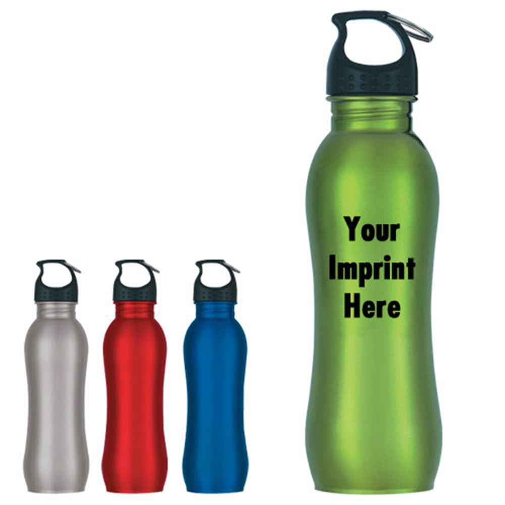 Stainless Steel Water Bottle 25-oz. - Personalization Available