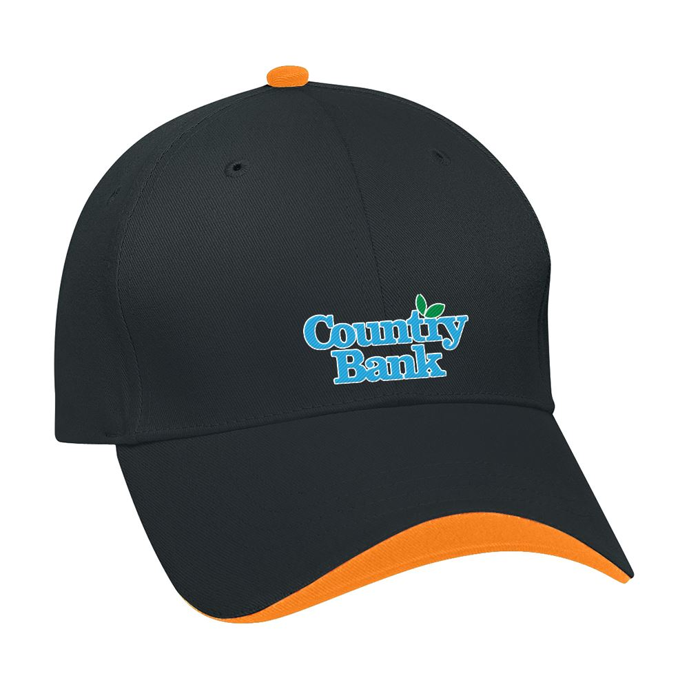 Wave Sandwich Cap - Personalization Available
