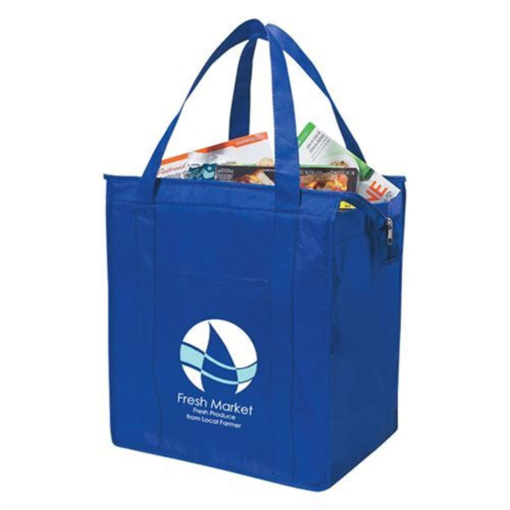 Non-Woven Insulated Shopper Tote Bag - Personalization Available