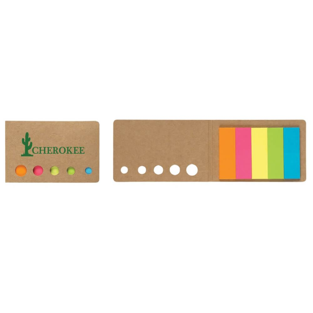 Sticky Flags In Pocket Case - Personalization Available