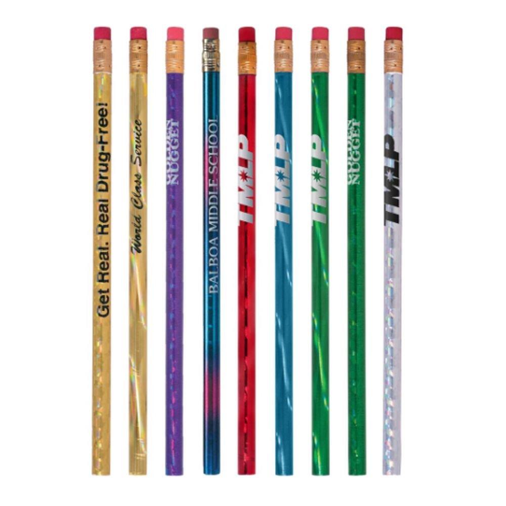 Sparkle Prizm #2 Pencils - Personalization Available