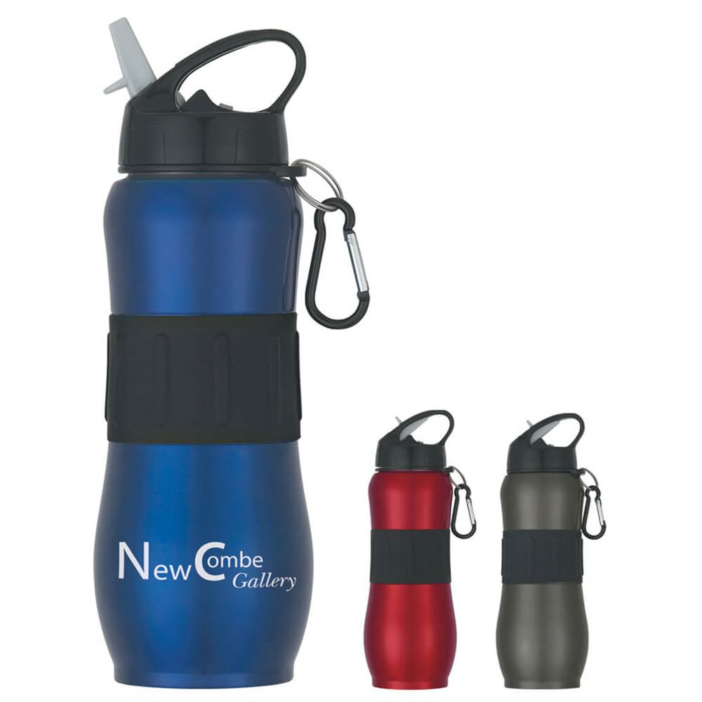 Stainless Steel Bike Bottle 25-oz. - Personalization Available