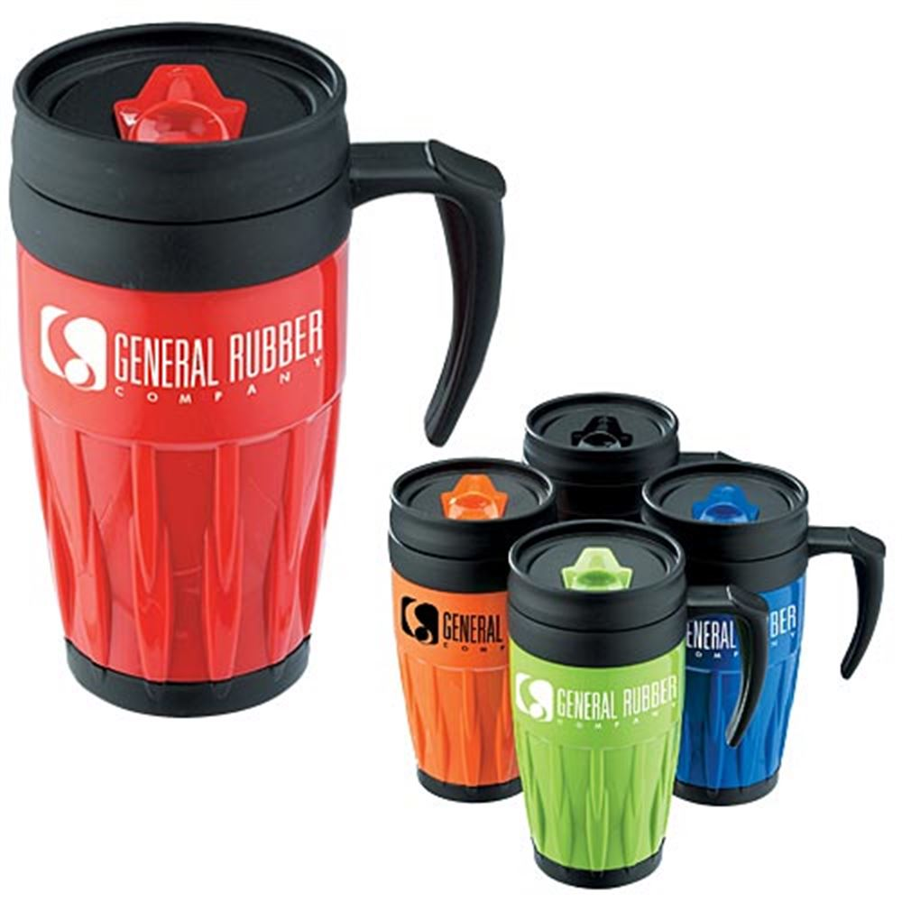 Lightweight Travel Mug With Lid 14-oz. - Personalization Available