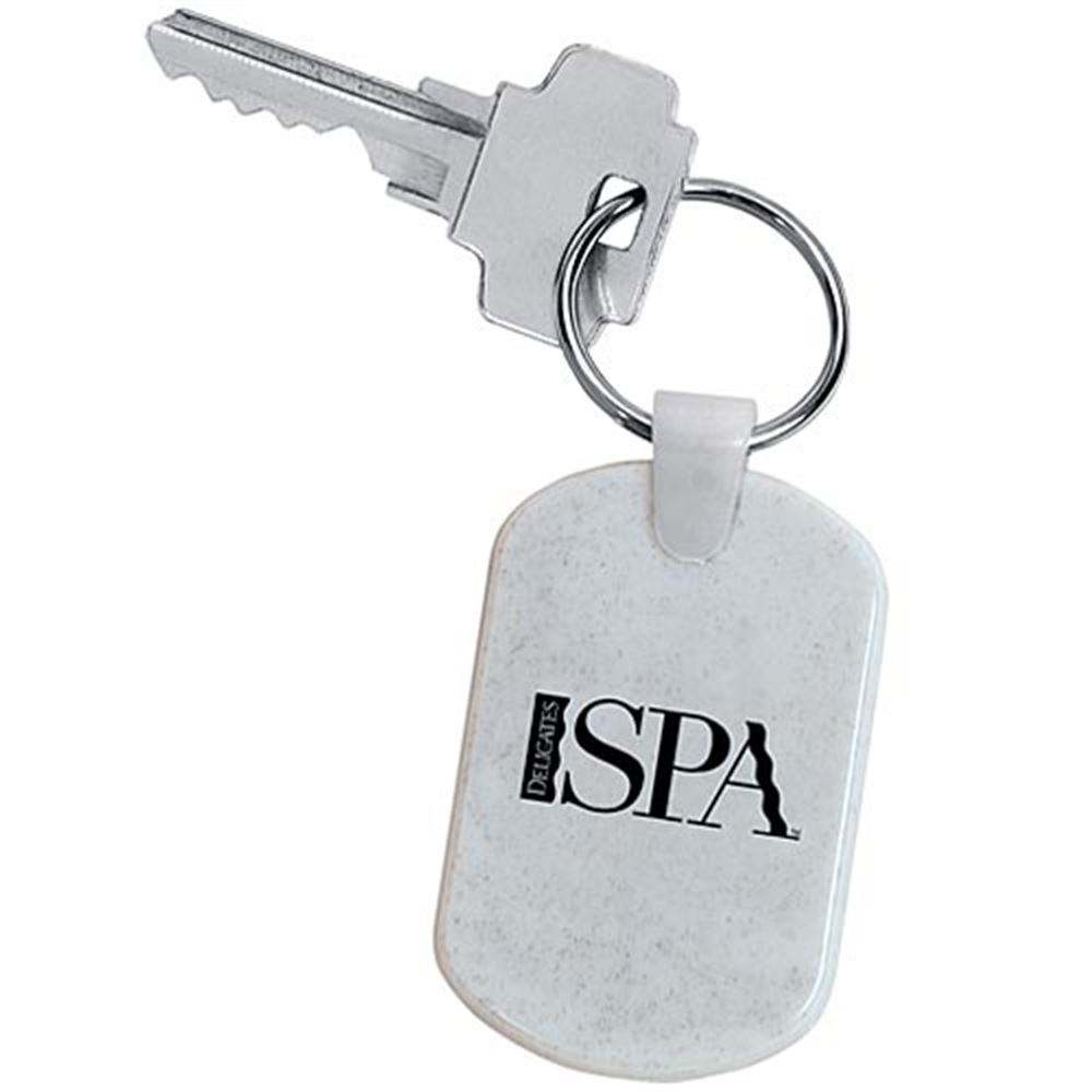 Rectangular Soft Key Tag - Personalization Available
