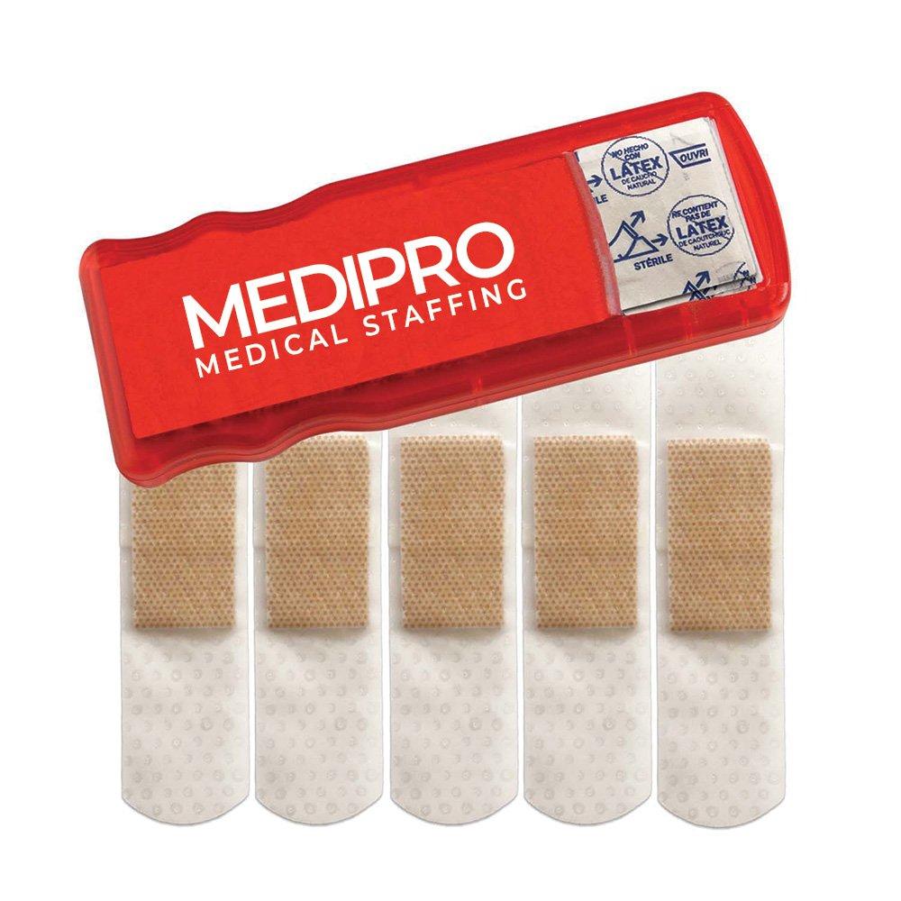 Bandage dispenser giveaways for baby