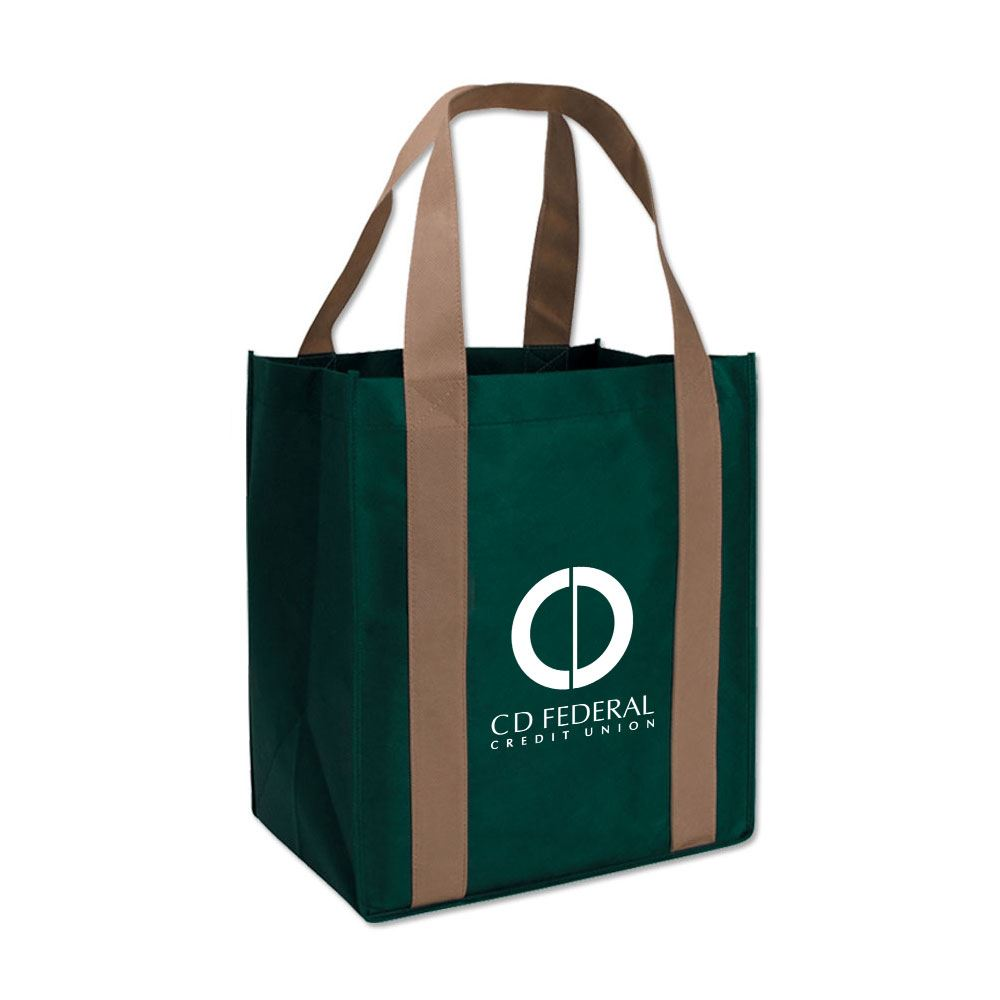 Two-Tone Large Eco-Shopping Tote - Personalization Available