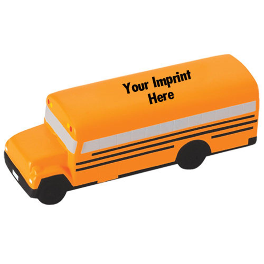 School Bus Stress Reliever - Personalization Available