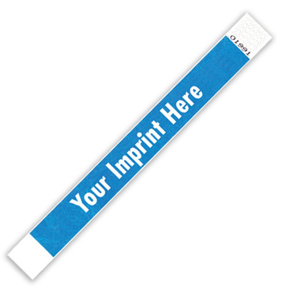 Tyvek Bracelets Solid Colors - Personalization Available