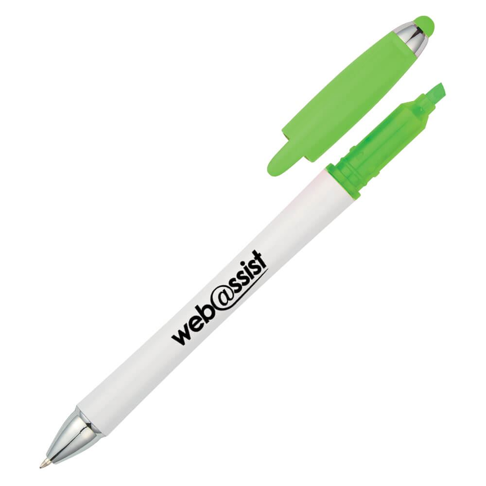 Harmony Stylus Pen With Highlighter - Personalization Available