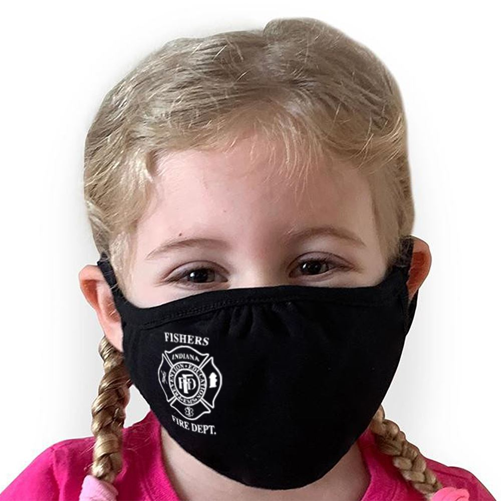 Youth Next Level CVC Recycle Mask - 1-Color Personalization Available