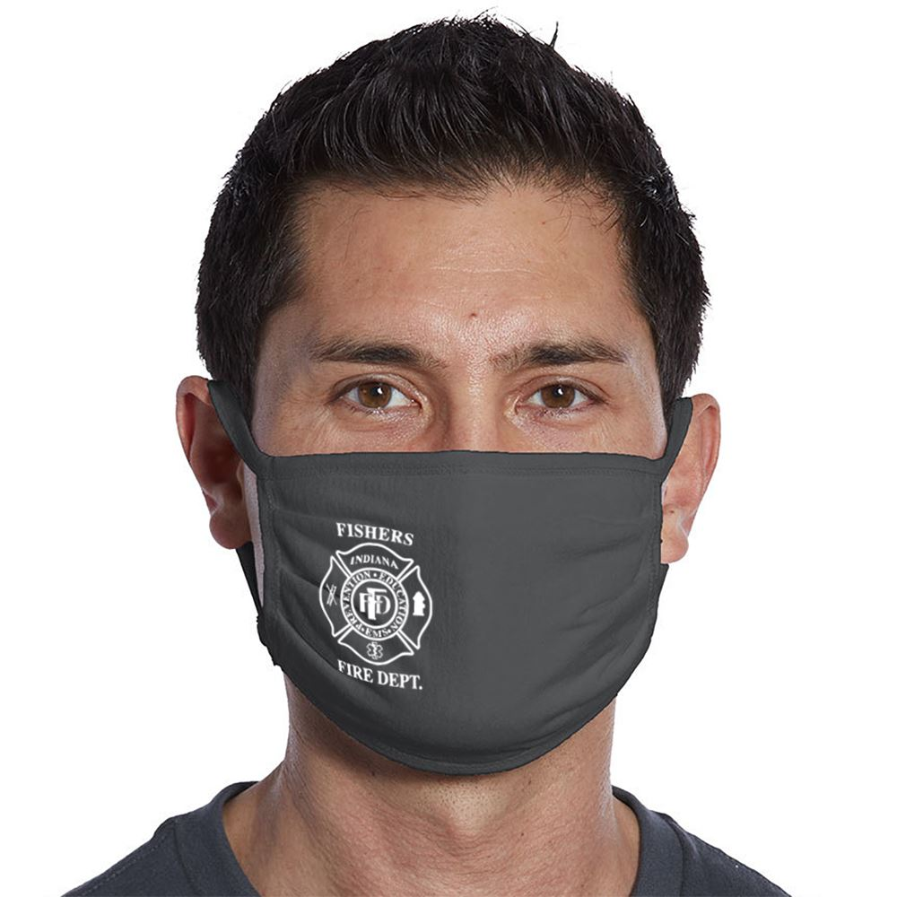 Port Authority 3-Ply 100% Cotton Face Mask - 1 Color Personalization Available