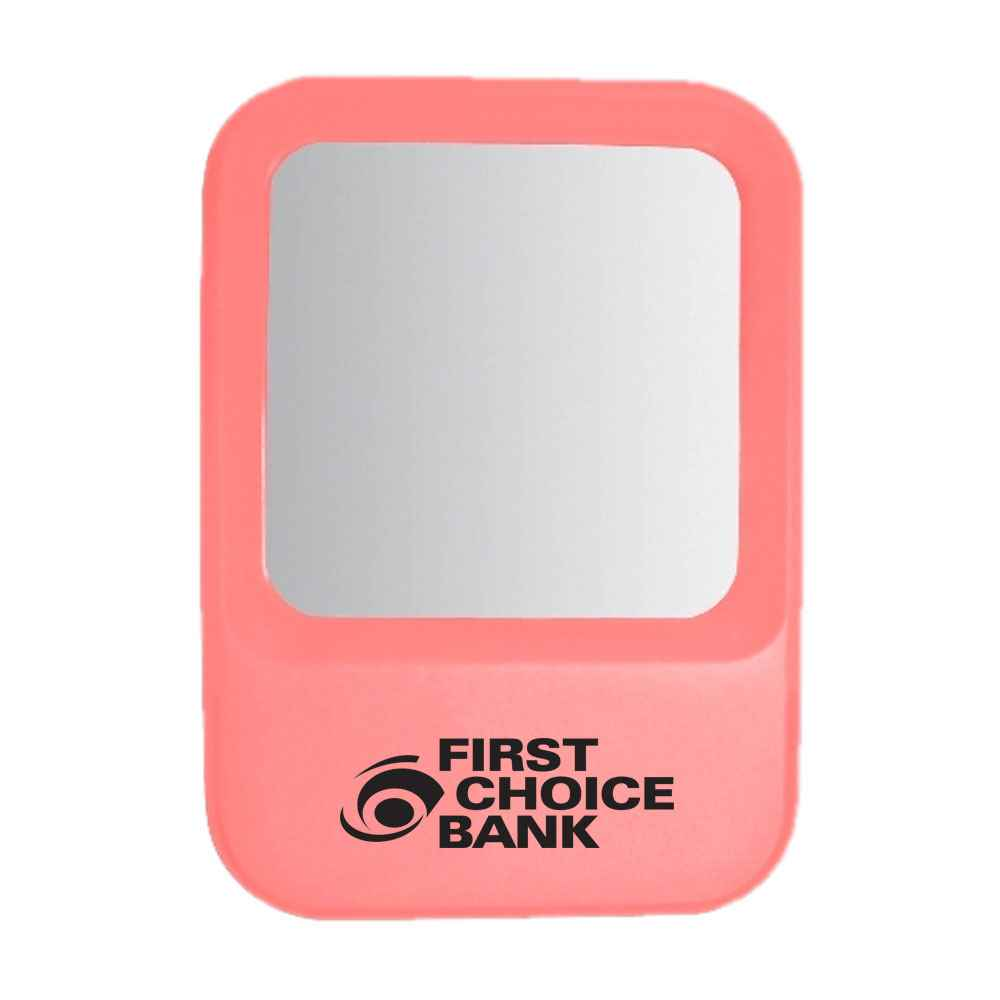 Plastic Locker & Office Mirror - Personalization Available