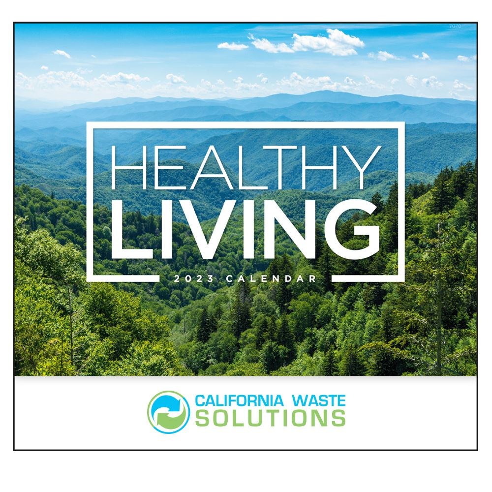 Healthy Living 2022 Wall Calendar - Personalization Available