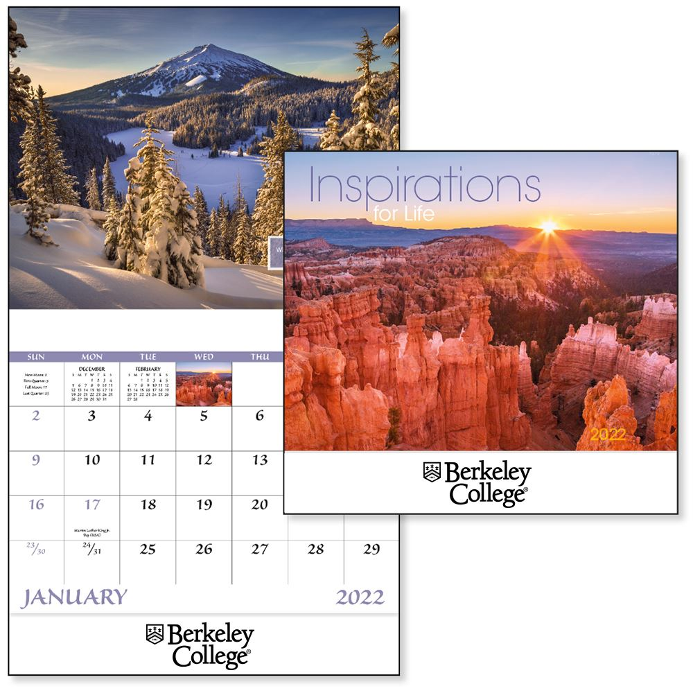 Inspirations for Life 2022 Wall Calendar - Stapled - Personalization Available