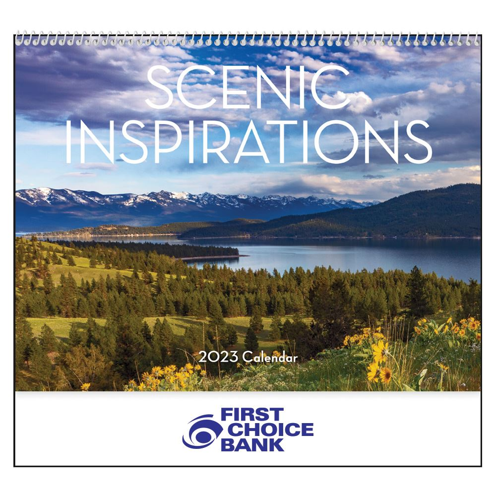 Scenic Inspirations 2021 Calendar�- Personalization Available
