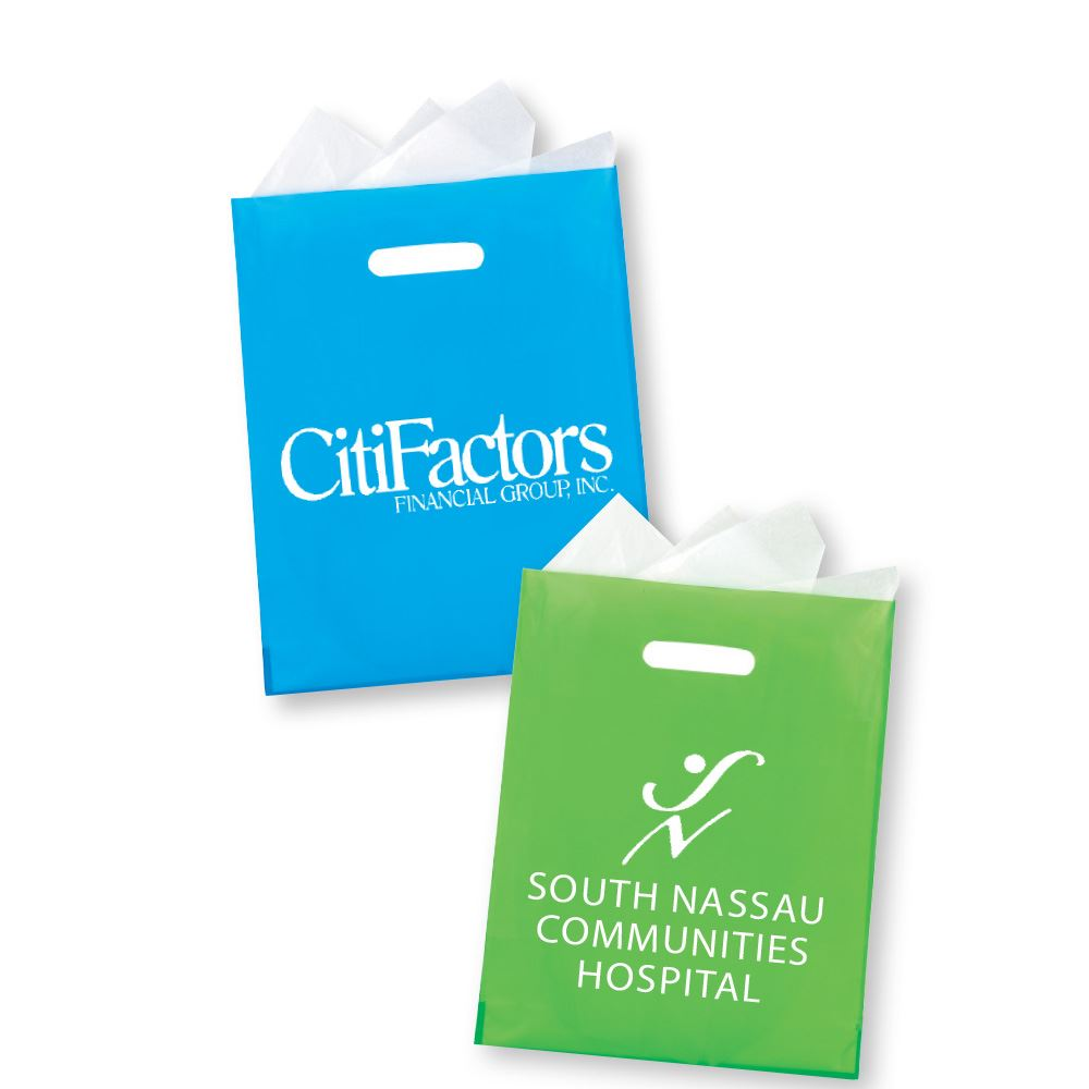 Frosted Die-Cut Bag - Personalization Available