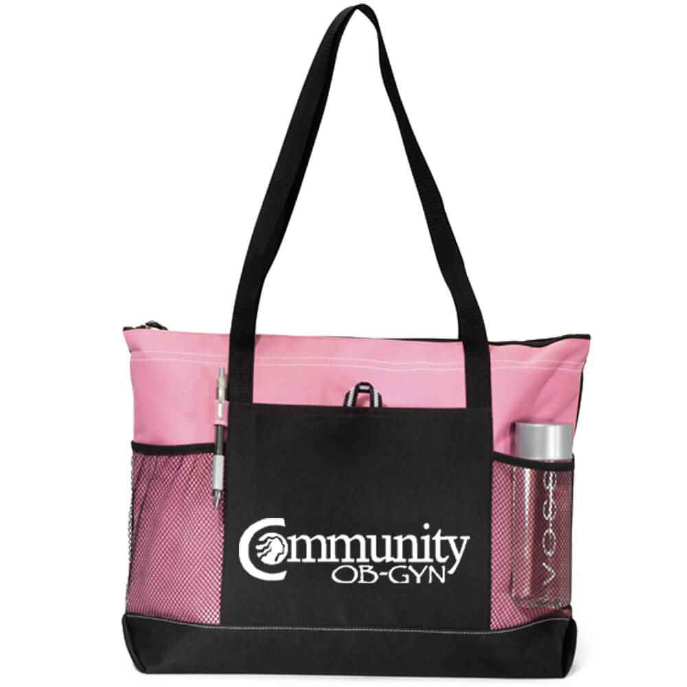 Select Zippered Tote - Personalization Available